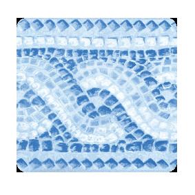 Friso -Liner - Pompei bleu