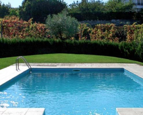 espaço para instalar piscina