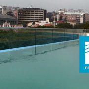 Infinity pool at Liberdade 40