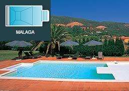 Piscinas SOLEO Malaga R15