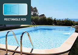 Piscinas SOLEO RP Industries Rectangle R25