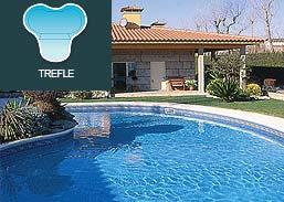 Piscinas SOLEO Trefle R50